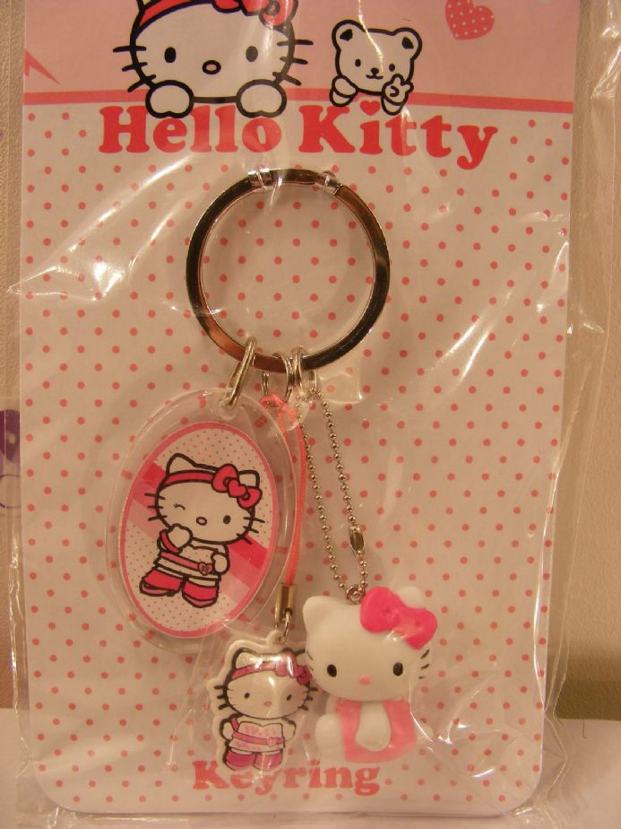 BN HELLO KITTY KEYRING PACK - BEAUTIFUL GIFT IDEA